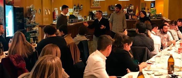 """Butísta: """"Los jóvenes del PP defendemos sin complejos la libertad económica y de elección y la unidad de España""""."""