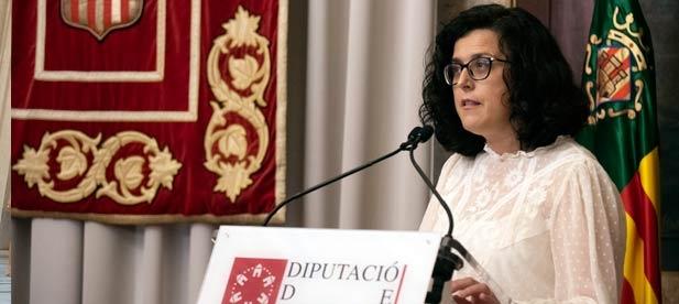 """Nieves Martínez, diputada provincial del PP, lamenta que el PSOE """"mienta a la ciudadanía con una cuestión tan básica como es la cobertura sanitaria que salva vidas"""""""