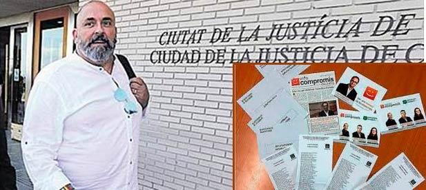 Nomdedéu se verá en un juicio con jurado, para defenderse de los presuntos delitos de malversación de caudales públicos y falsedad documental que pesan sobre él