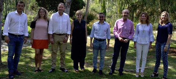 La presencia de dos miembros del Gobierno evidencia el respaldo de Génova al PP de Castellón y a la labor de Javier Moliner y Miguel Barrachina en la provincia