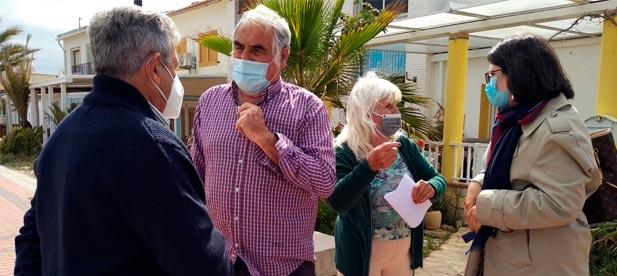 """Ana Obiol, portavoz del PP, """"acusa al PSOE de actuar con prisas y sin contar con el visto bueno de los propietarios. No apoyaremos ningún texto que no tenga el aval de los vecinos"""""""