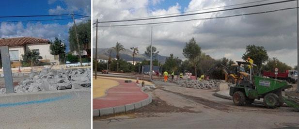 Las obras de acceso al barrio Carmaday siguen generando polémica.