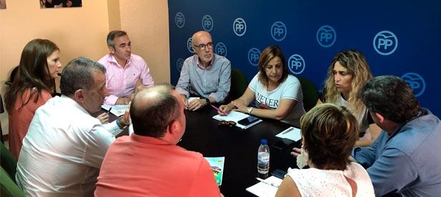 """Vicente-Ruiz: """"En el PPCS hemos apostado por diputados que se dediquen al territorio y que estén al servicio de los alcaldes y concejales de los 135 municipios"""""""
