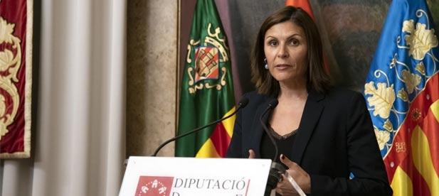 """Mª Ángeles Pallarés, diputada del PP, recuerda la necesidad de """"ser diligentes"""" porque los municipios tienen que tener aprobados estos planes antes del 1 de septiembre"""