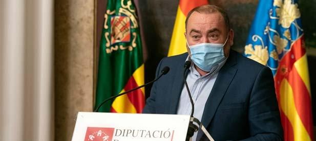 """""""La Diputación debería ser un instrumento ágil para ayudar a los municipios. Sin embargo, su lentitud ataca directamente a los que menos tienen"""", señala el diputado provincial Vicente Pallarés"""