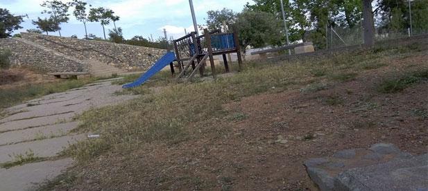 Parque alto carbonaire abandonado