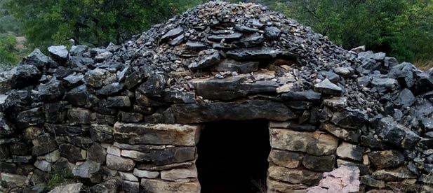 La localidad del Baix Maestrat cuenta con un vasto inventario de casetas realizadas con esta técnica que ha sido declarada Patrimonio Cultural Inmaterial de la Unesco