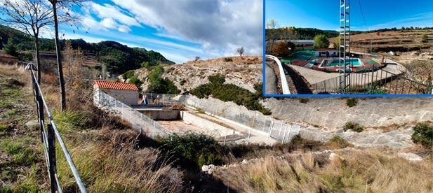 El alcalde decide sellar el vaso de una piscina inacabada en la que invirtió 60.000 euros de la Diputación. No contó con los vecinos para construirla y tampoco ahora para sellarla