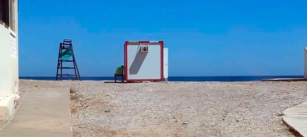 Las playas de Nules empiezan la temporada estival sin la embarcación de socorrismo que establece el pliego de condiciones.