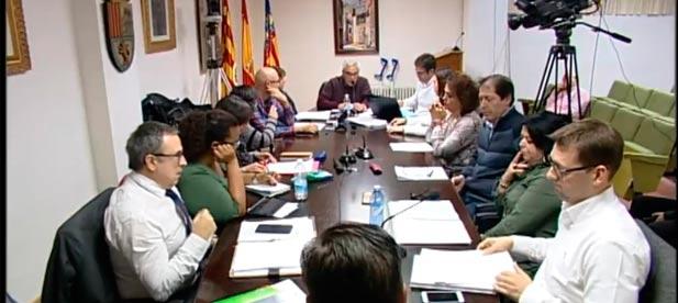 """Los cinco concejales del PP de Borriol abandonaron el martes, """"hartos"""", el pleno del Ayuntamiento."""