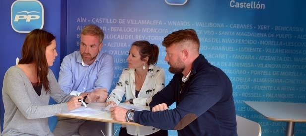El PPCS ha decidido incorporar la reivindicación de infraestructuras útiles para la provincia de Castellón dentro de sus estatutos