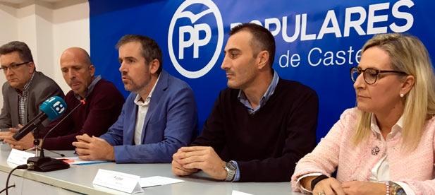 """Portavoces del PP lamentan el servilismo de ayuntamientos gobernados por la izquierda, """"que han priorizado los intereses de sus siglas a los de sus vecinos"""""""
