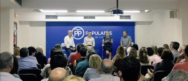 """Barrachina: """"El PP es el único partido que defiende la libertad, la unidad y el respeto y esos valores siguen guiando al nuevo PPCS"""""""