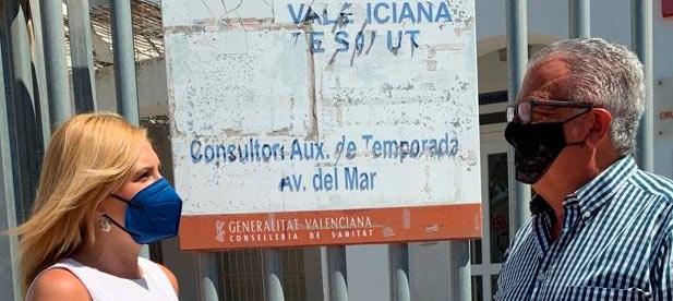 """El presidente Ximo Puig anunció en junio un refuerzo de centros que sigue sin cumplirse. """"Estafar a la ciudadanía en materia de salud es dramático"""", declara Pradas"""
