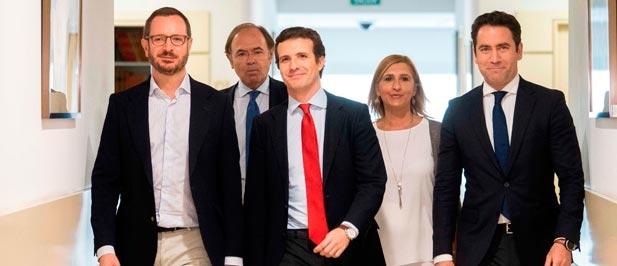 """Pradas (PP): """"Nuestra provincia no merece un PSOE que sin liberalizar la AP7 estudia cómo cobrar la autovía A7, cuyo tramo entre Vilanova y la zona norte han bloqueado"""""""