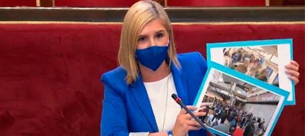 """Pradas: """"Desde el PP no queremos parches, queremos que se reestablezcan las mismas frecuencias que había antes de los recortes del PSOE"""""""