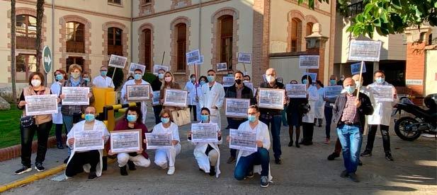 """Toledo: """"El estallido de la pandemia de Covid ha acelerado el procedimiento de desmantelamiento de los servicios sanitarios de esta institución, que se encuentra colapsada"""""""