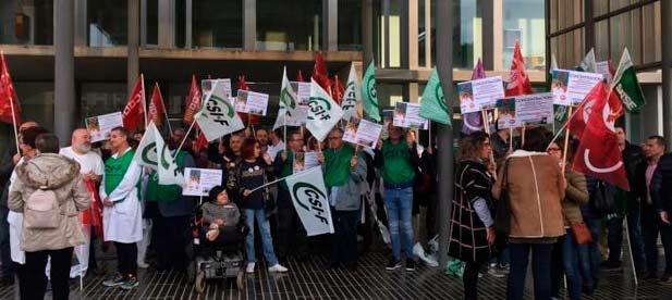 """La protesta de los sanitarios del Hospital Provincial """"es la punta del iceberg de un plan socialista dirigido a desmantelar los recursos vitales que el PP convirtió en referentes"""""""