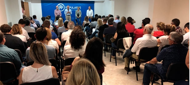 """Barrachina: """"Los representantes de la provincia serán un contrapeso a las políticas de izquierda que desmantelan la sanidad de Castellón o el sectarismo en educación """""""