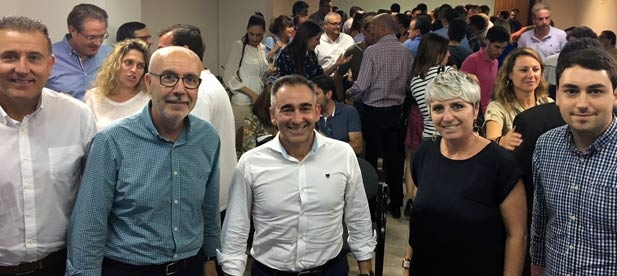 """Barrachina: """"El Partido Popular es el partido de la libertad y con este proceso se demuestra que los afiliados son los únicos protagonistas"""""""