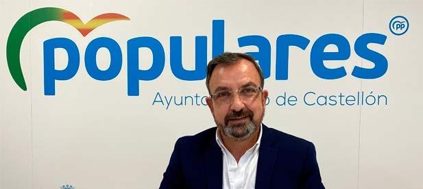 """Redondo: """"La Intervención municipal en el Ayuntamiento de Castellón vuelve a darle un tirón de orejas al gobierno de izquierdas de Amparo Marco"""""""