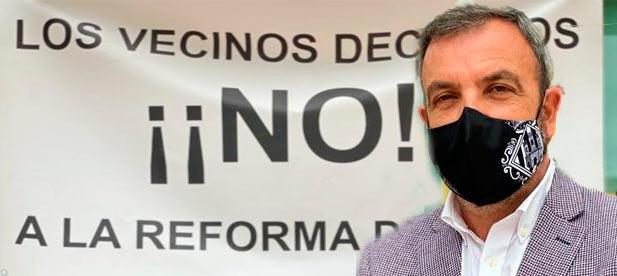 Redondo se ha referido así a los nuevos planes de la alcaldesa de Castellón de seguir cerrando al tráfico rodado a motor el centro de la ciudad.