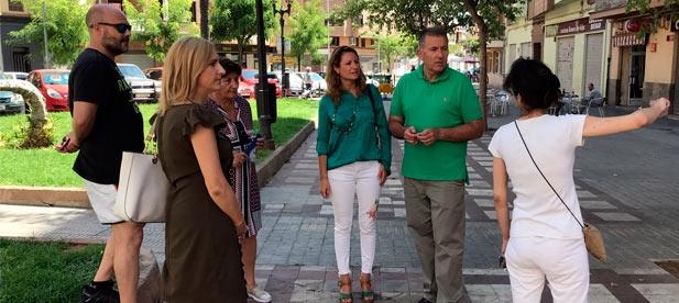 """Carrasco: """"La Ruta Ciudadana de los populares ha puesto de manifiesto el abandono y olvido de PSOE y Compromís de este entorno del distrito norte"""""""