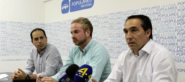 """Ibáñez ha asegurado que """"el gobierno de Ximo Puig y Mónica Oltra ha conseguido en dos años hacer invisible a la provincia de Castellón donde solo llega el 2,4% de la inversión del Consell"""""""