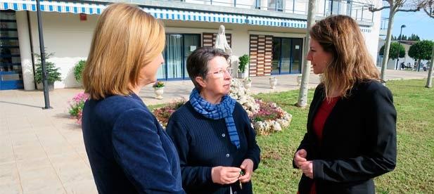 El PP de la ciudad de Castellón visita el Centro Social Marillac de las Hijas de la Caridad de San Vicente de Paúl, dentro de su Ruta Ciudadana, y recoge las propuestas para mejorar la situación de los más necesitados