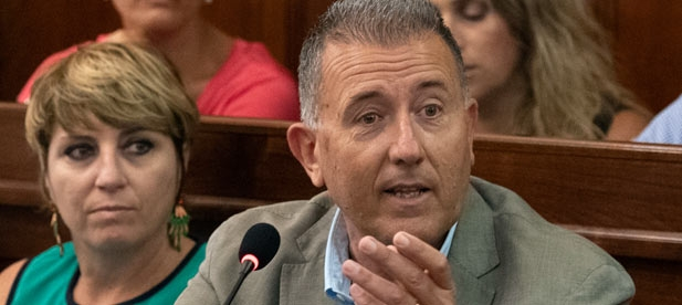 """Sales (PP): """"Queremos saber si Martí desea derechos para los castellonenses o prefiere votar en contra de un sistema justo de financiación como ha hecho el PSOE en el Senado"""""""