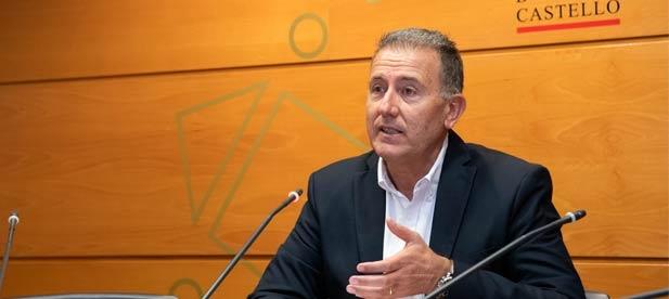 """Sales: """"Es el momento de que la Diputación se ponga al servicio de lo que necesitan los 135 municipios de Castellón"""""""