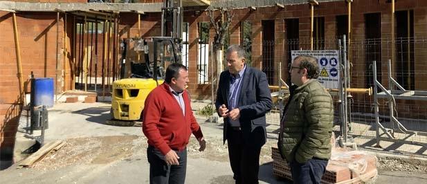 Con esta actuación ya son más de 300.000 euros el dinero invertido por el Gobierno Provincial en el municipio en los últimos años