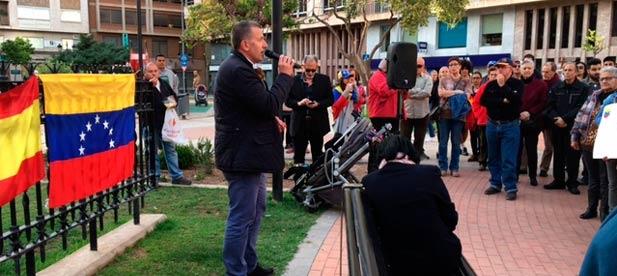 Sales ha acudido a una manifestación para defender la libertad y contra la represión política del país.