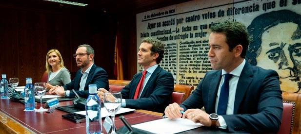 """Pradas: """"Es un honor poder proteger los intereses de mi provincia y liderar la defensa de las inversiones útiles y el desarrollo frente al castigo y parálisis del PSOE"""""""