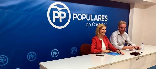 """Clavell: """"Es preocupante que la media interanual refleje una caída del empleo en la provincia de Castellón por el bloqueo del PSOE""""."""