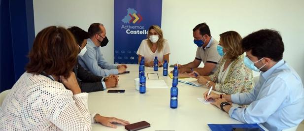 """La presidenta provincial reivindica el Plan de Cercanías del PP que reservaba 800 millones a la Comunitat. """"El PSOE ha degradado el servicio a base de no invertir"""""""