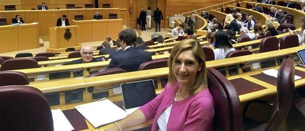"""La senadora Pradas afirma que """"tras estas medidas tan positivas vendrán otras en futuros Presupuestos generales, en forma de inversiones e incentivos para la provincia"""""""