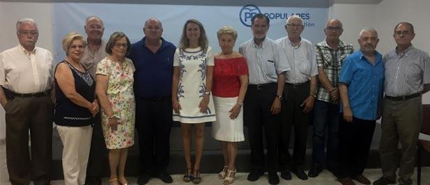 Afiliados procedentes del mundo educativo, del movimiento vecinal o de la vida política forman parte de este Consejo que coordina la ex concejala popular, Marisa Ribes