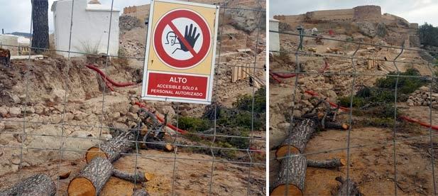 La imagen que presenta hoy el cerro de la Magdalena choca con la visión proteccionista y conservacionista que pregona el bipartito