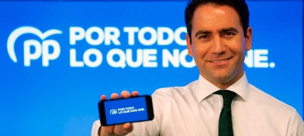 Teodoro García Egea presenta la campaña para el 10N