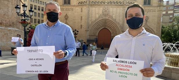 El PP apoya a los castellonenses que, una semana más, y van cinco, han vuelto a salir a la calle