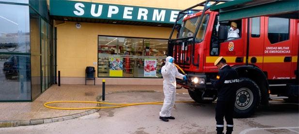 El Ayuntamiento interrumpe el suministro de las fuentes públicas para evitar que se conviertan en focos de contagio.