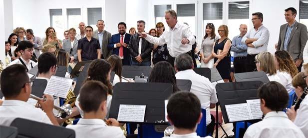 Vicente Martínez ha celebrado hoy que el Gobierno Provincial atienda las demandas de la Unión Musical de Xilxes