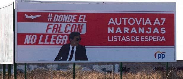 Los populares lamentan que Sánchez da la espalda a la provincia: a los cítricos, a las infraestructuras y a la creación de empleo