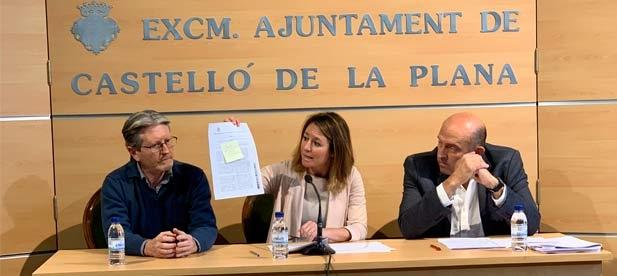 Carrasco critica que aumenta el gasto de personal, pero no aumentan ni los servicios ni las inversiones que percibirán los castellonenses, ni tampoco bajan los impuestos.