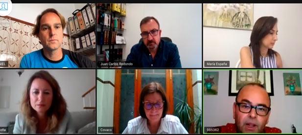 Carrasco se reúne con los representantes de Confecomerç Castelló y Castelló Espai Comercial, para conocer el estado del sector y recibir sus demandas y propuestas