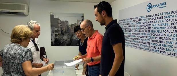 """Martínez: """"La elevada participación en la provincia de Castellón demuestra que los afiliados tenían ganas de votar por el futuro del Partido Popular"""""""
