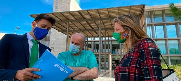 """Carrasco: """"La Conselleria de Sanidad apuesta por desmantelar un nuevo servicio de atención a la ciudadanía que, además, podría suponer el riesgo de que posibles pacientes COVID"""""""